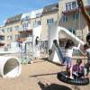 Детские площадки со всего мира. Часть 13. Детская площадка из лопастей ветряных электростанций в Роттердаме
