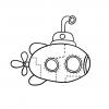 Подводная лодка: детский проект