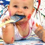 Разноцветный мир. Знакомим ребенка с цветами и оттенками