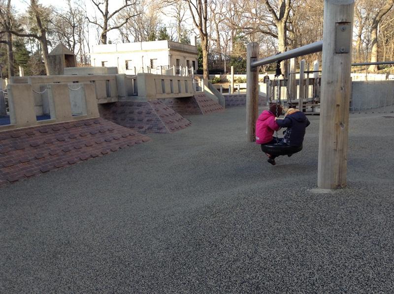 Детские площадки со всего мира. Часть 1. Нью-Йорк