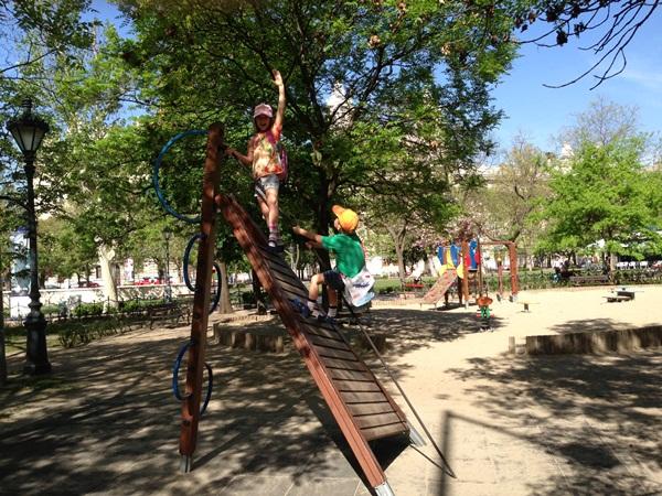 Детские площадки со всего мира. Часть 3. Будапешт