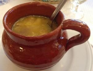 Чесночный суп - воспоминание об Арагоне
