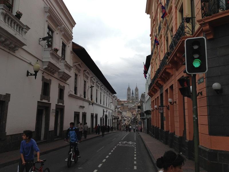 Четыре дня в столице Эквадора - городе Кито