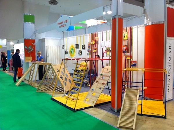 """«Ранний старт» - на выставке """"Мир детства""""!"""
