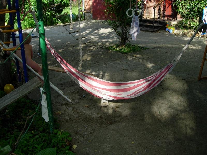 Гамак в доме и во дворе