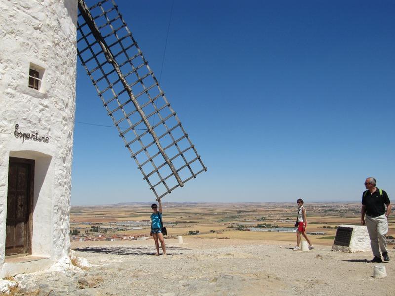 Испания 2012. Мельницы Дон Кихота