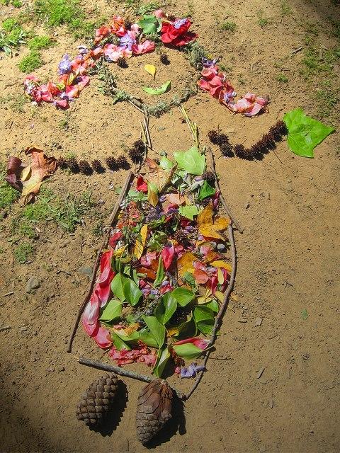 Человечки из палок и другие поделки из природного материала