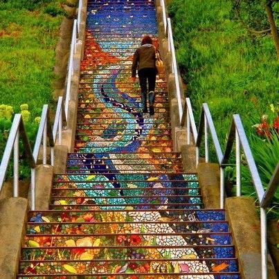 Коллекция лестниц