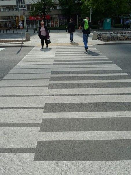 """Коллекция... пешеходных переходов """"зебра"""""""