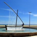 «Фонтан-лодка» в Валенсии