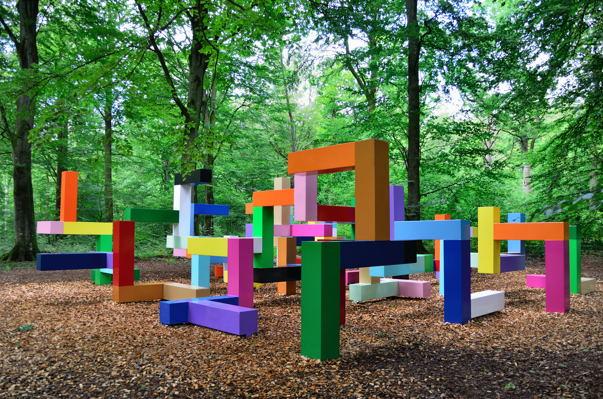 Детские площадки со всего мира. Часть 17. Геометрическая лазалка в Швеции