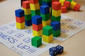 башенка из мини-кубиков