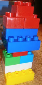 башня из лего