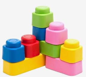 мягкий конструктор для малышей