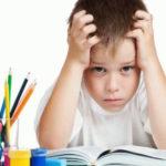 Что делать, если ребёнок не хочет выполнять трудные задания?